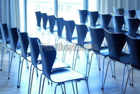 blue seminar conference room furniture room