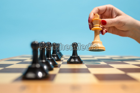 szachownicy i koncepcji gry pomyslow biznesowych