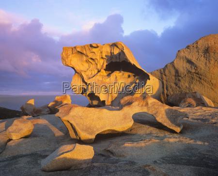kamien pestka park narodowy oblok chmura