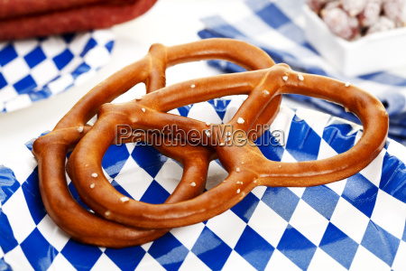 salt pretzels bavarian