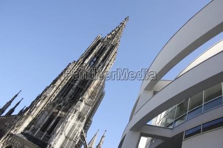 ulm munster and part of the