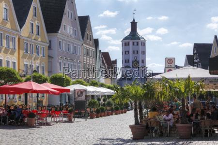 market square and lower gate gunzburg