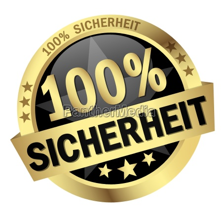 przycisk z banerem 100 bezpieczenstwa