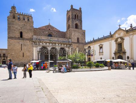katedra monreale lub katedra santa maria