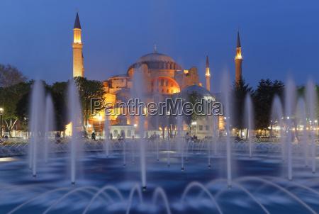 hagia sophia ayasofya sultan ahmed park