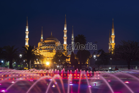 blue mosque also sultan ahmed mosque