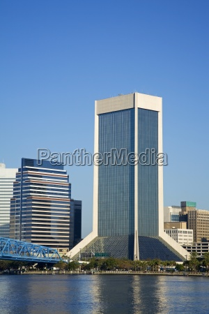 skyline jacksonville florida usa