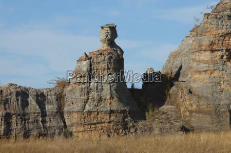 formacja skalna la reine disalo isalo