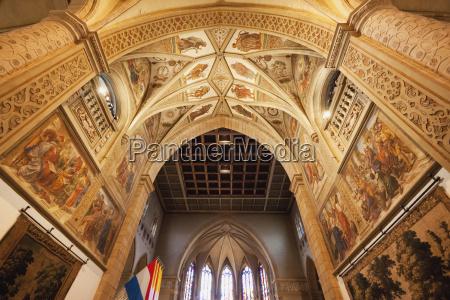 sufit katedry najswietszej maryi panny katedra