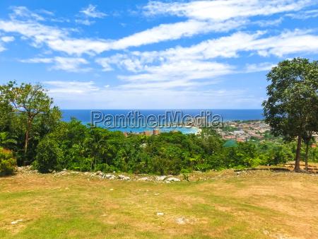jamaican beach a caribbean beach on