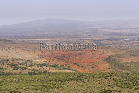 afryka kenia dolina pejzaz krajobraz natura