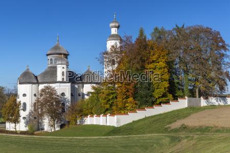 kosciol barok bayern bawaria klasztor klasztorny