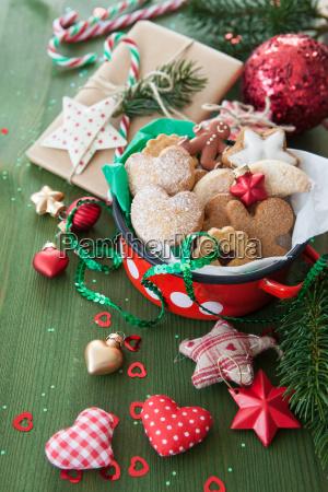 ciasteczka i dekoracje na swieta