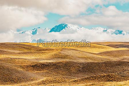 nowa zelandia scenic mountain krajobraz shot