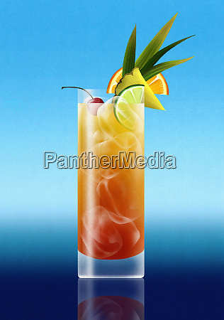 napoj koktajlowy tropical rumu