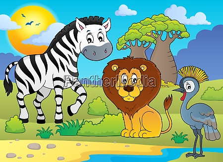 african nature theme image 5