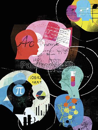 kolaz z profili uczniow i edukacyjnych