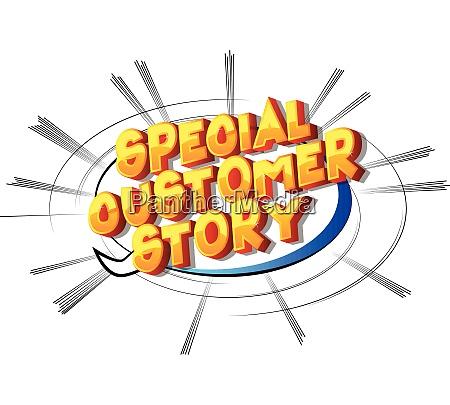 specjalne historie klientow komiks slowa stylu