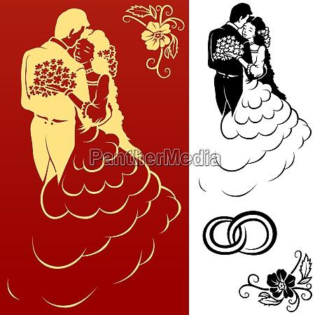 wedding, design, elements - 26053002
