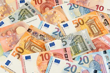 bank banknotow euro finanse waluta tlo