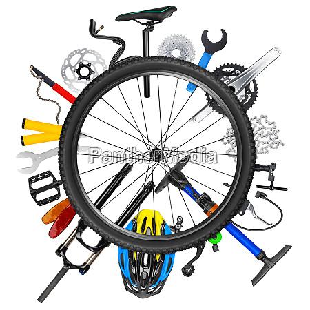 koncepcja kola rowerowego