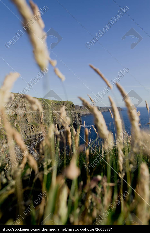 grüne, wiesen, steile, klippen, und, atemberaubende, landschaften - 26058731