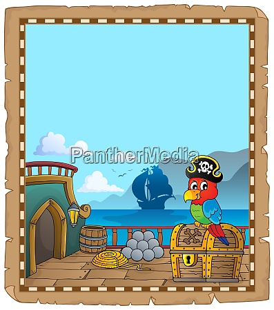 pirate ship deck topic parchment 6