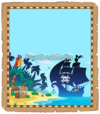 pirate topic parchment 2