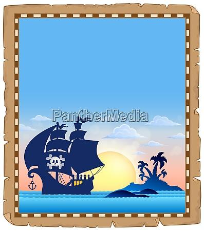 pirate topic parchment 4