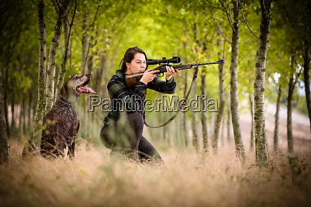 jesienny sezon mysliwski polowanie sporty na