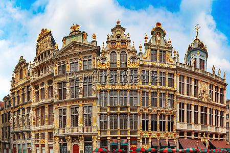 plac wielkiego placu w brukseli belgia