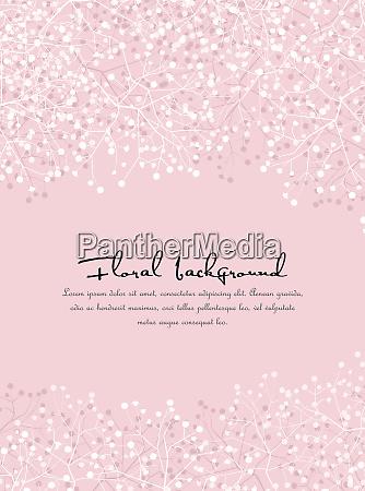 tlo z sylwetki kwiatow