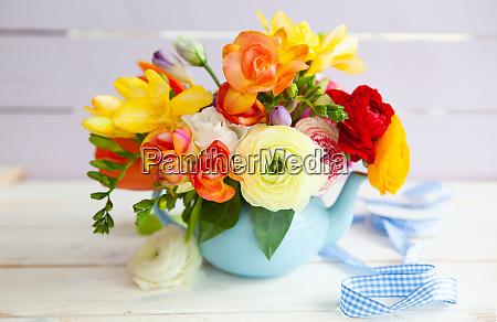 jasne wesoly wiosna kwiaty