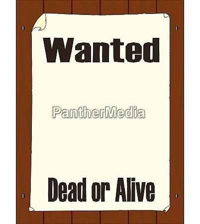 poszukiwany martwy lub zywy