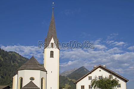 parish church of bichlbach