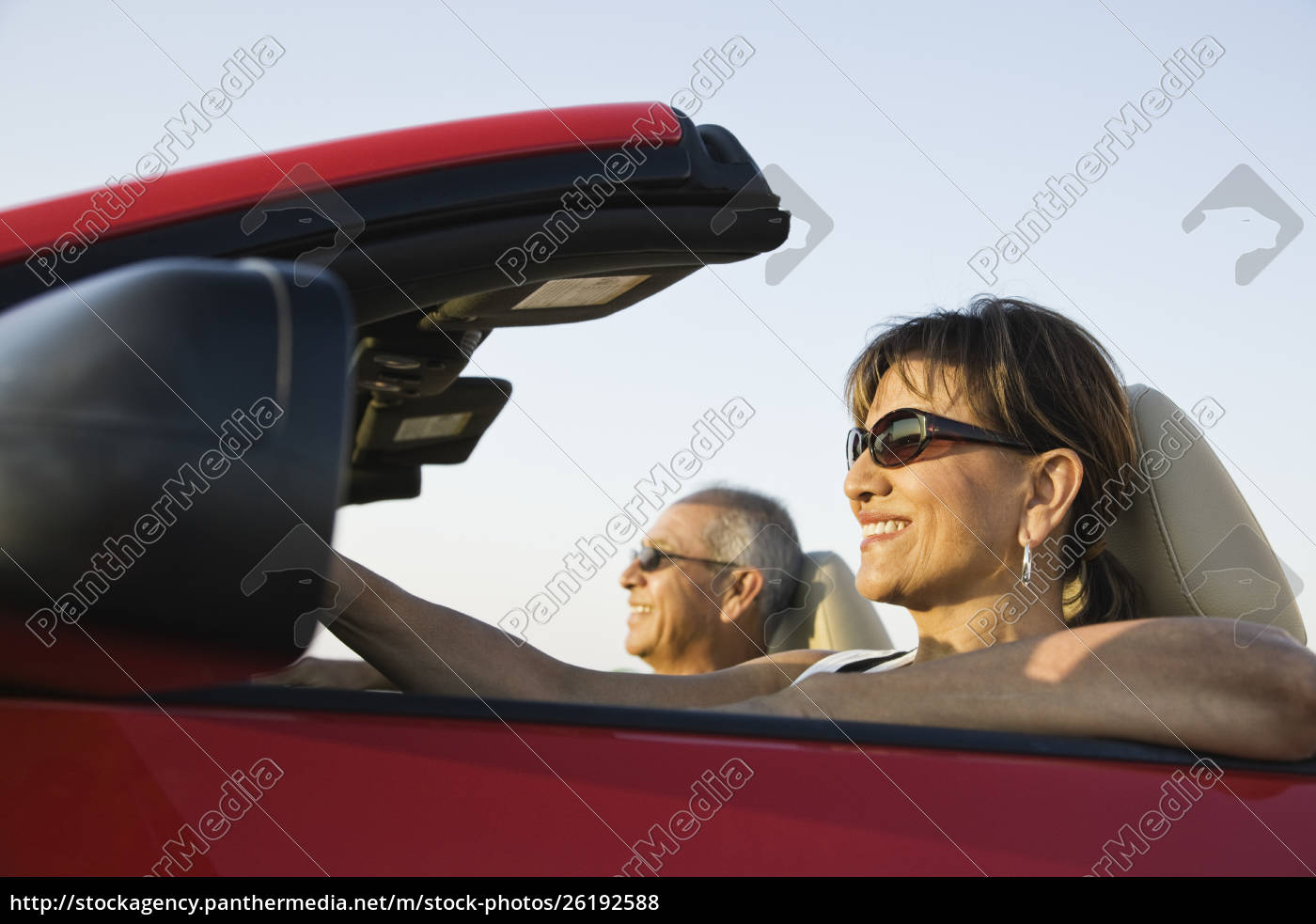 a, hip, senior, hispanic, couple, on - 26192588