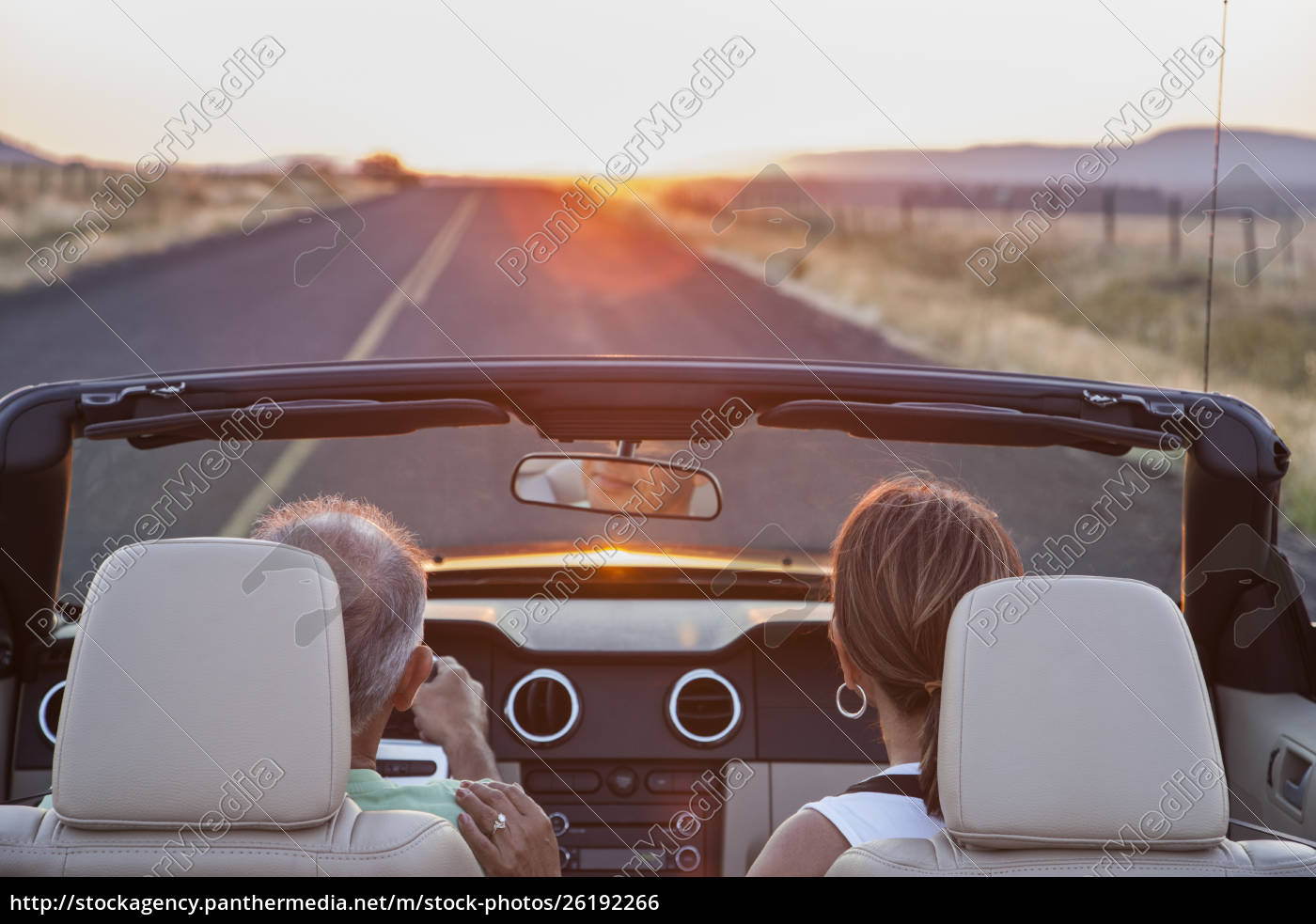 view, from, behind, of, senior, couple - 26192266