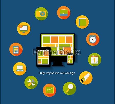 nowoczesny plaski zestaw ikon dla aplikacji
