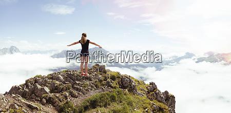 austria south tyrol hiker
