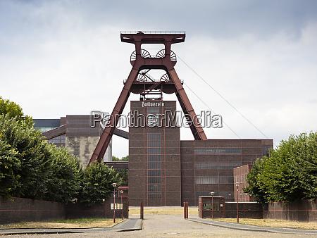 niemcy essen widok na kompleks przemyslowy