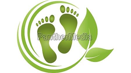 stopy liscie pielegnacja stop podiatry logo