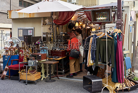 second hand shop in shimokitazawa tokyos