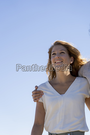 portrait of a beautiful woman in