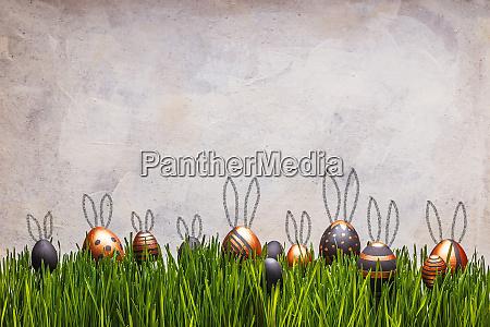 pisanki z uszami cute bunny