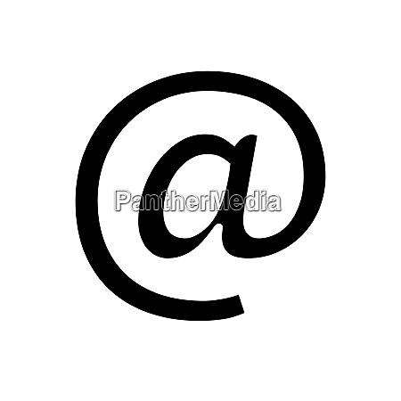 black icon on white background black