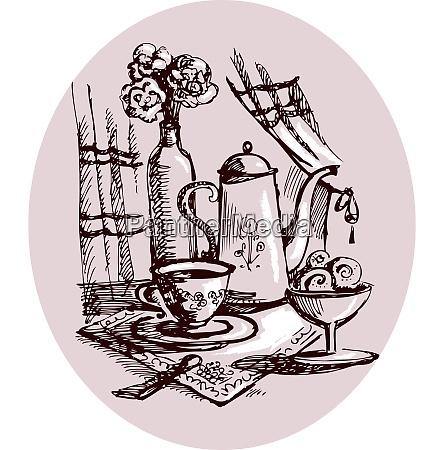 still-life, sketch - 26776435