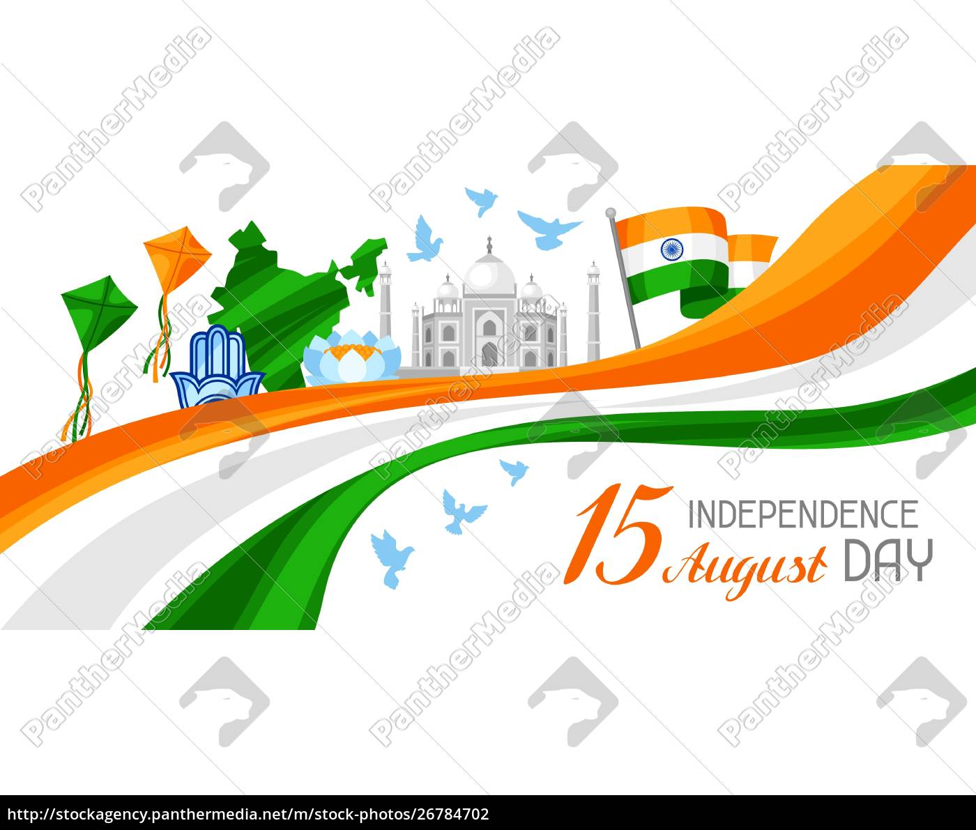 india, independence, day, banner., celebration, 15 - 26784702
