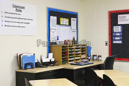 szkolne biuro nauczycielskie
