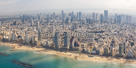 tel awiw panorama panoramy plazy izrael