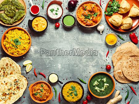 dania kuchni indyjskiej i indyjskiej miejsce